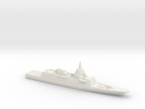 DCNS FREMM-ER Concept (2012 Design), 1/3000 in White Natural Versatile Plastic