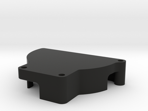Motor wire cover in Black Natural Versatile Plastic