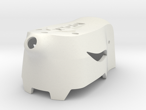 Atom Mini Canopy V5 No Buzzer WIP in White Natural Versatile Plastic