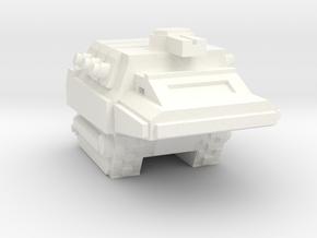 Armadillo Scout in White Processed Versatile Plastic