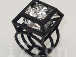 ring06 20 in Black Natural Versatile Plastic