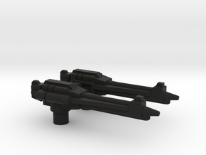 Gravity-Rod Rifles for TR Cloudraker in Black Premium Versatile Plastic