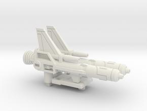 Electro-Burst Rifles for TR Wingspan in White Premium Strong & Flexible