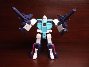 Electro-Burst Rifles for TR Wingspan in White Strong & Flexible Polished