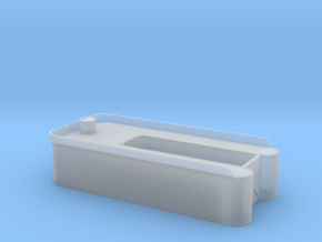 Class 56, 60 or C-16 tender tank in HOn3 in Smooth Fine Detail Plastic