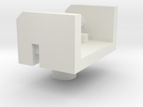 Modified Launcher Clip for Godbomber/God Ginrai in White Premium Versatile Plastic