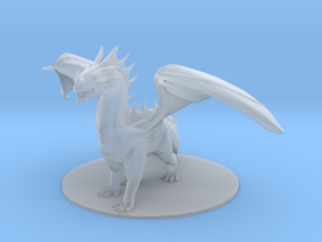 Dragon in Smooth Fine Detail Plastic
