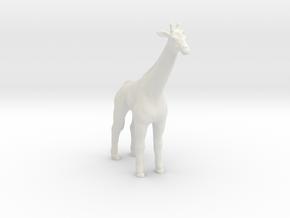 Printle Thing Giraffe - 1/20 in White Natural Versatile Plastic