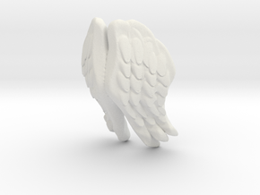Printle Thing Angel Wings - I - 1/32 in White Natural Versatile Plastic