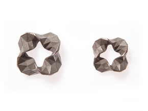 Impulse - Large in Polished Bronzed Silver Steel