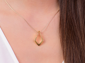 HIDDEN HEART Lucent, pendant in 18K Gold Plated