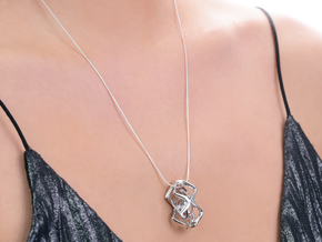 HEAD TO HEAD Perfect Union, Pendant in Polished Silver