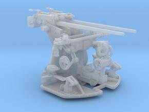 1/48 DKM 3.7cm C/30 Twin Gun Mounting in Smooth Fine Detail Plastic