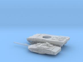 Leopard-2E-144-3-piezas-proto-01 in Smooth Fine Detail Plastic