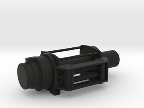 Offroad Winch - LEFT Version - 1/10 in Black Natural Versatile Plastic