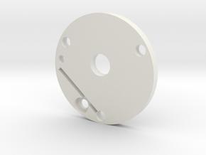 Graflex plate in White Natural Versatile Plastic