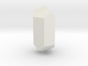 Calcite, 25 mm in White Natural Versatile Plastic