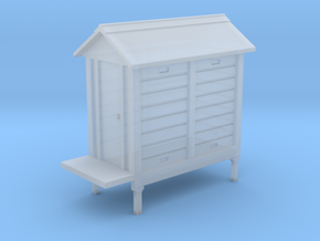 HO NSWGR Signal Hut on Frame in Smooth Fine Detail Plastic