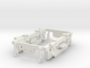 NS 2200 Draaistel frame. Scale 0 (1:45) in White Natural Versatile Plastic