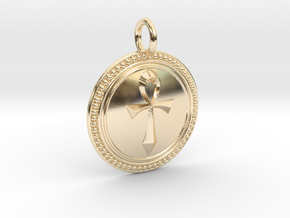 NewSpirituality in 14k Gold Plated Brass
