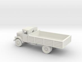 1/144 Opel Blitz truck with Einheitsführerhaus in White Natural Versatile Plastic