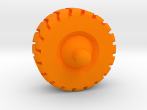 2cm spinner in Orange Processed Versatile Plastic