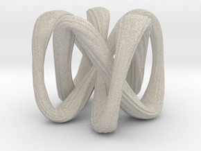 A Knot Or Not A Knot in Natural Sandstone