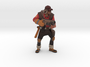 Engineer (Custom request) in Full Color Sandstone