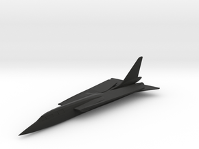 Republic TFX Fighter Proposal in Black Premium Strong & Flexible: 6mm