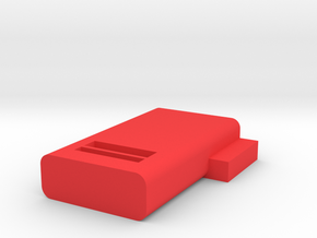 slide clip in Red Processed Versatile Plastic