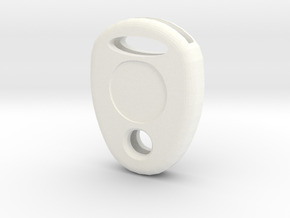 Key cap in White Processed Versatile Plastic