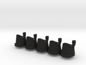 5 x British Shako Wellington  in Black Premium Strong & Flexible