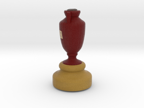 Cricket Ashes Cup in Full Color Sandstone