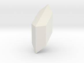 Gypsum, 25 mm in White Natural Versatile Plastic