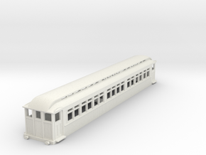 0-76-mersey-railway-1903-trailer-coach-1 in White Natural Versatile Plastic