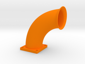 intake sample in Orange Processed Versatile Plastic