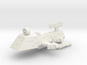 3788 Scale Kzinti Drone Frigate SRZ in White Natural Versatile Plastic