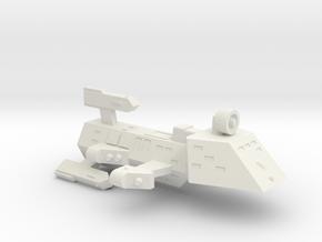3125 Scale Kzinti Drone Frigate SRZ in White Natural Versatile Plastic