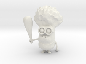 Evil Minion  in White Natural Versatile Plastic