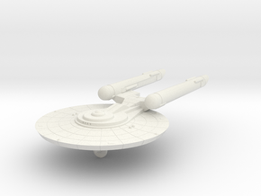 3125 Scale Federation New Light Cruiser (NCL) WEM in White Natural Versatile Plastic