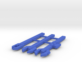 Sonic Wrench 3-pack in Blue Processed Versatile Plastic