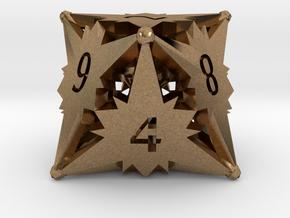 D8 Balanced - Starlight in Natural Brass