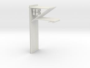 25kv overhead catenary tests x10 in White Natural Versatile Plastic