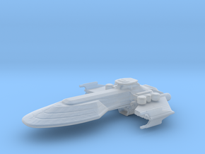 BATTLE SHIP in Smooth Fine Detail Plastic