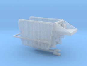 1/64 Small Square Baler Kicker Part #3 Version 2 in Smoothest Fine Detail Plastic