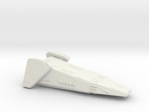 Exeter DD Full in White Natural Versatile Plastic