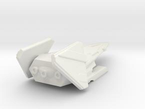 County FCV Full in White Natural Versatile Plastic