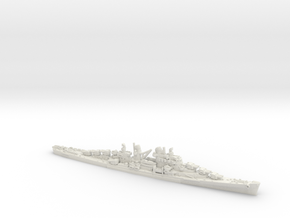 USN CL52 Juneau(I) [1942] in White Natural Versatile Plastic: 1:1200