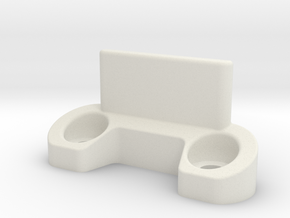 B6 rear body support in White Natural Versatile Plastic