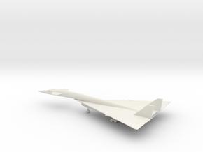 North American XB-70 Valkyrie in White Natural Versatile Plastic: 1:200